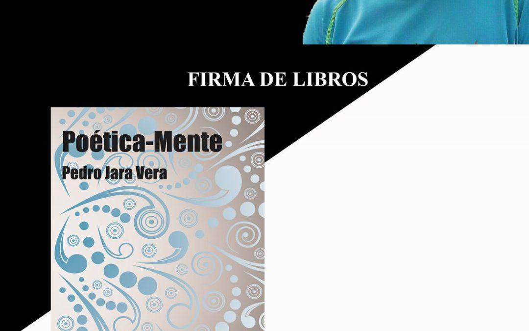 Poética-Mente: Firma de libros el 12 de Abril en Murcia