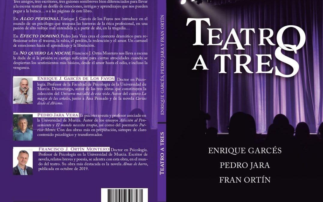 ¡Nuevo libro!: TEATRO A TRES (Edit. Noubooks)